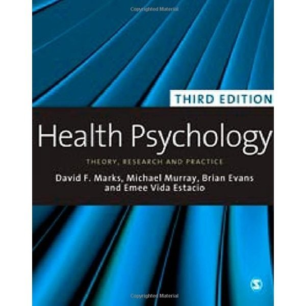 Health Psychology: Theory  Research and Practice (