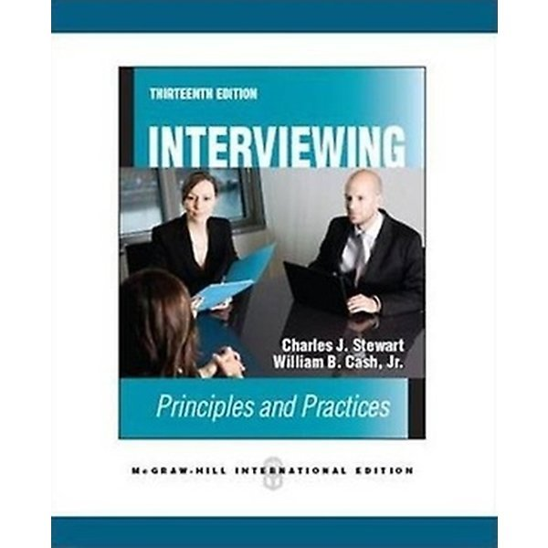 Interviewing (Paperback / 13th International Ed.)