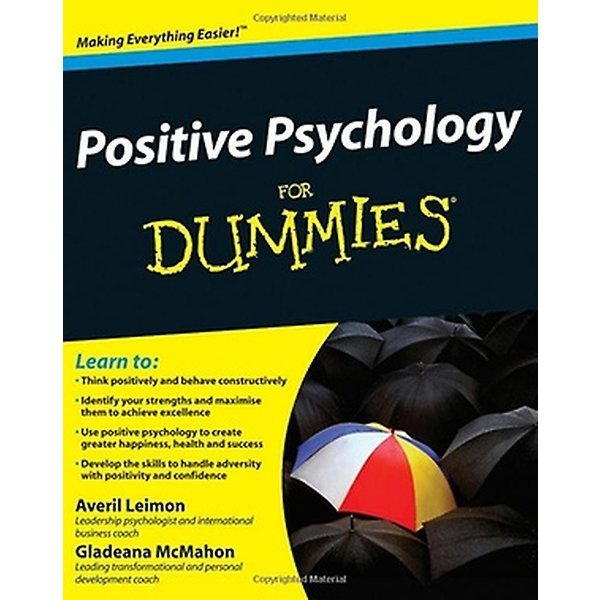 Positive Psychology for Dummies (Paperback)