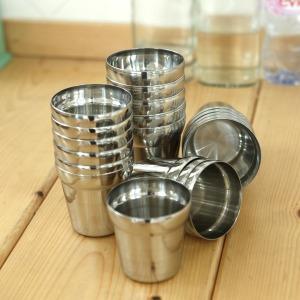 스텐물컵 (중) / 스텐컵 물컵 업소용 식당컵