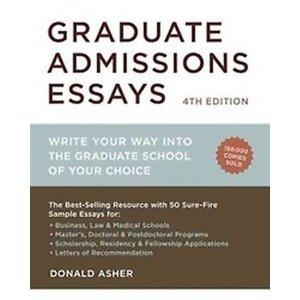 Graduate Admissions Essays (Paperback / 4th Ed.) -