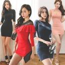 유유존-미니원피스/클럽의상/섹시홀복/롱/니트/파티복