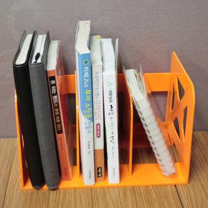 3단 책꽂이/플라스틱 책꽂이 책장 잡지꽂이 북앤드