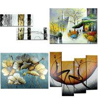 유화그림 100% 수작업 그림액자 고급벽화 벽걸이 선물