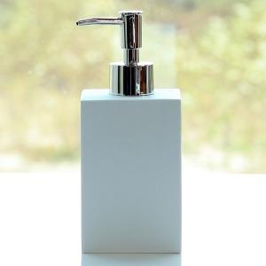 샌드스톤 사각 디스펜서 (욕실용품 샴푸통 세제통)