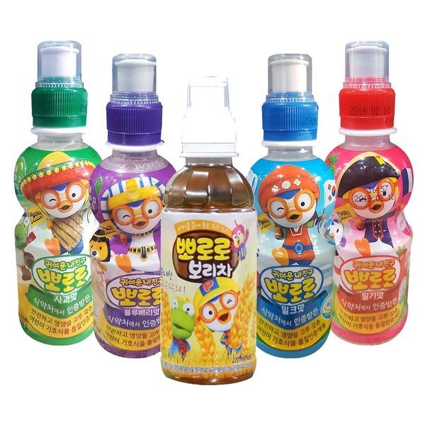뽀로로 블루베리 음료수 235mlx24/어린이 음료/보리차