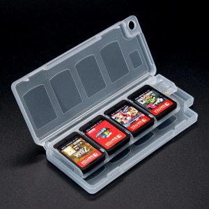 모모켓 8+2게임팩케이스 닌텐도 스위치SD카드멀티수납