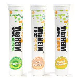 비타하임 발포비타민 20정 6통 선택/비타민 멀티 아연