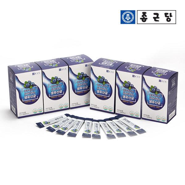블루베리맛 프로바이오틱스 생유산균 30포 4박스