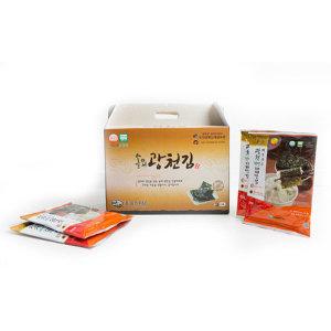 광천김  광천 웰빙 재래맛김 전장김 5매(20g) x 20봉