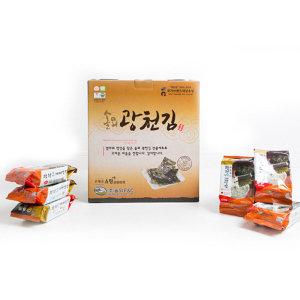 광천김  광천 웰빙 재래맛김 식탁김 27매(15g)x15봉