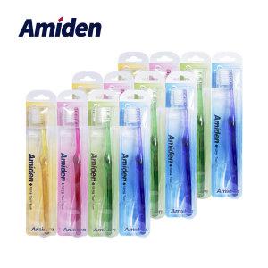 아미덴 Basic 치과전용 기능성 칫솔 12EA/교정칫솔