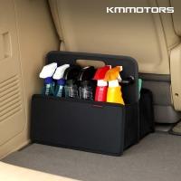 손잡이 트렁크 정리함/접이식 트렁크 박스/블랙(1P)
