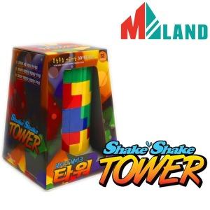 쉐이크타워/3D 테트리스 보드게임/타워 입체 퍼즐