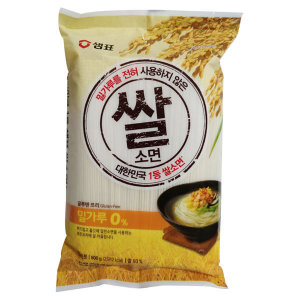 샘표 쌀 소면 800g 12개 /무료배송