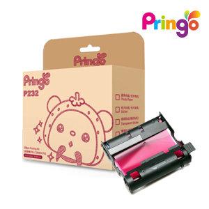 (Pringo) 프린고2 포토프린터 전용 인화지 108매/포토인화지/용지(카트리지 포함)