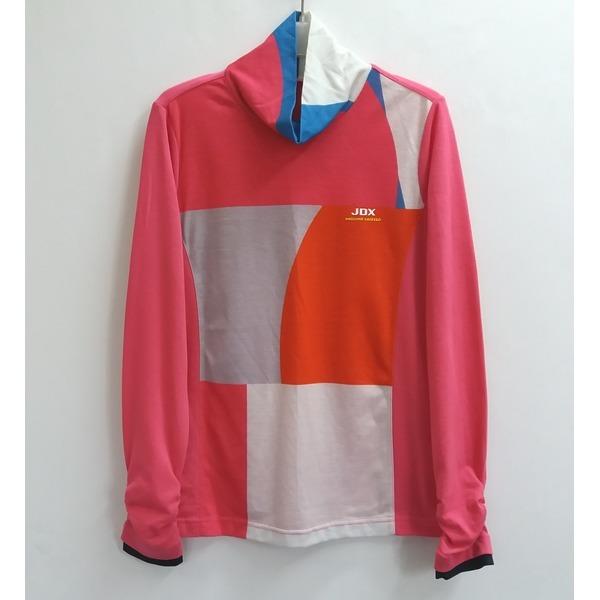 JDX 여성 얇은 반폴라 티셔츠95/중고