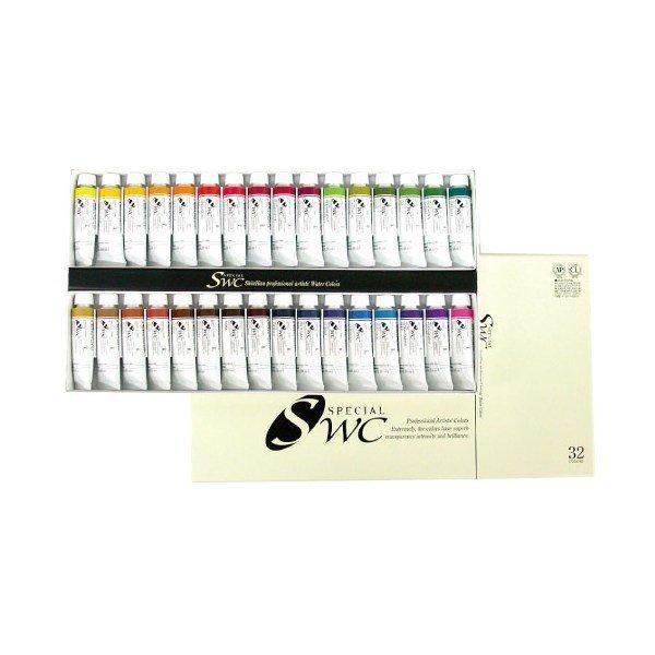 109916 신한 SWC수채화물감(32색)