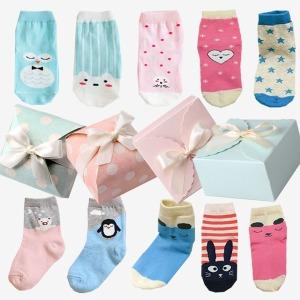 어린이집 생일 답례품 아동 양말 선물 포장