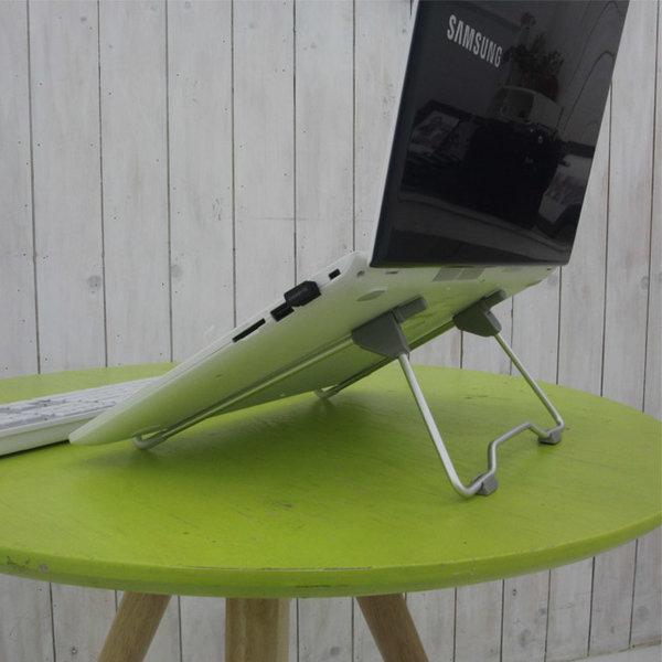알루미늄 노트북거치대 쿨링받침대 방열 놋북스탠드
