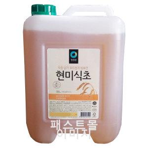 청정원 현미식초 18L (청정원식초/대용량 말통식초)