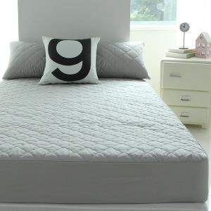 순면누빔 침대 매트리스커버 더블 D 140 200cm