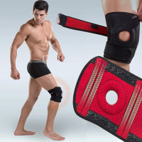 전면 무릎보호대 블랙 무릅보호대 관절 아대 등산용품