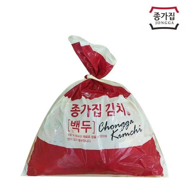종가집 포기김치 10kg (백두) 공식판매처 / 배추김치