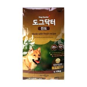 팜스코 진도 15kg 강아지사료 애견사료 개사료