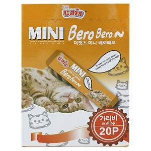 더캣츠 미니베로베로20p 5종류 미니츄르 고양이간식