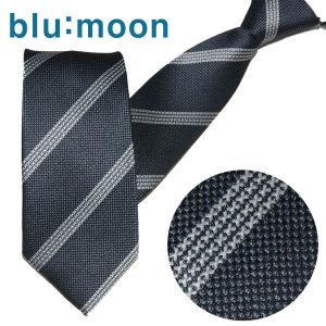 blu:moon  블루문 자동/지퍼넥타이 - 버진로드 그레이