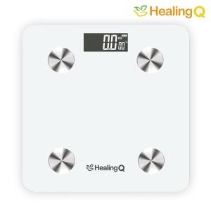 스마트 체중계/체지방 체중계-화이트 체중관리/한글APP