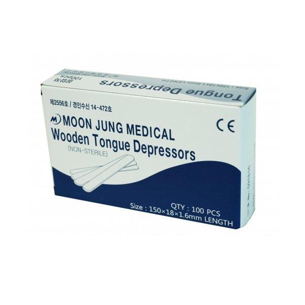 설압자 (Tongue Depressor) 15cm  Wood단위 : 박스(10