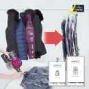 디자인 패턴 옷걸이압축커버(소형) 67cmX90cm 3매
