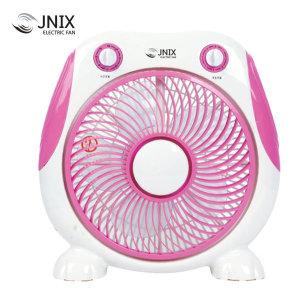 제이닉스 미니선풍기 탁상용 박스팬 DWB-5285 핑크