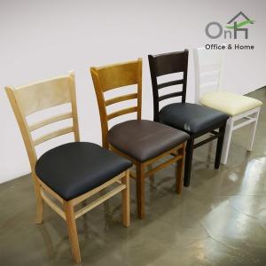 캐빈 원목 식탁의자 1+1 까페의자 원목 카페 식당의자
