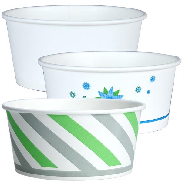 520cc 종이그릇 100개 / 밥그릇 국그릇 종이용기