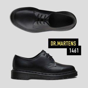 닥터마틴 1461 3홀 모노 블랙 14345001