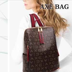 BG-37 AXE 정품 여성 사계절 트렌디 백팩 여자 가방