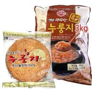오뚜기누룽지3kg/보리누룽지/참좋은식품 누룽지