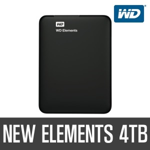 +공식판매점+ WD New Elements Portable 4TB MOD