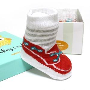 플립플랩 아기 신생아 양말 세트 임신 출산 축하 선물