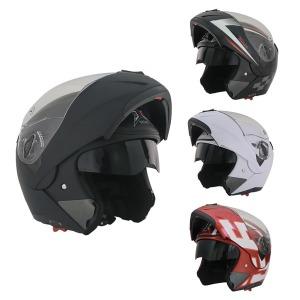 JEC HD 701 시스템 선바이저 오토바이 헬멧
