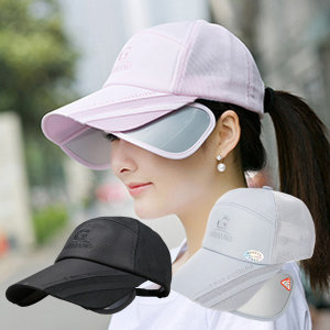 자외선차단 썬캡모자 메쉬 모자 햇빛가리개모자 선캡