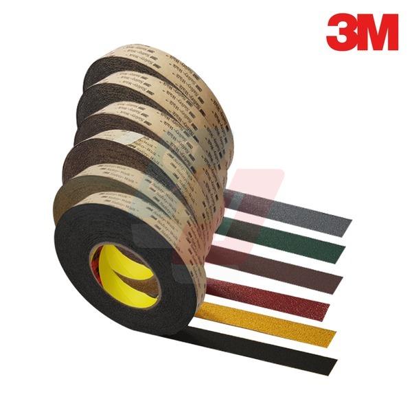 3M 미끄럼방지테이프(25mmx3M/25mmx6M/25mmx9M)