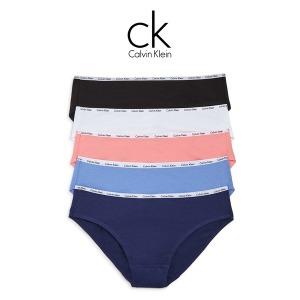 CK 시그니쳐 여성팬티 5팩세트 QP1094-962 블루네이비