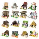 뜯어만드는세상 세계의 전통가옥과 전통의상2/퍼즐