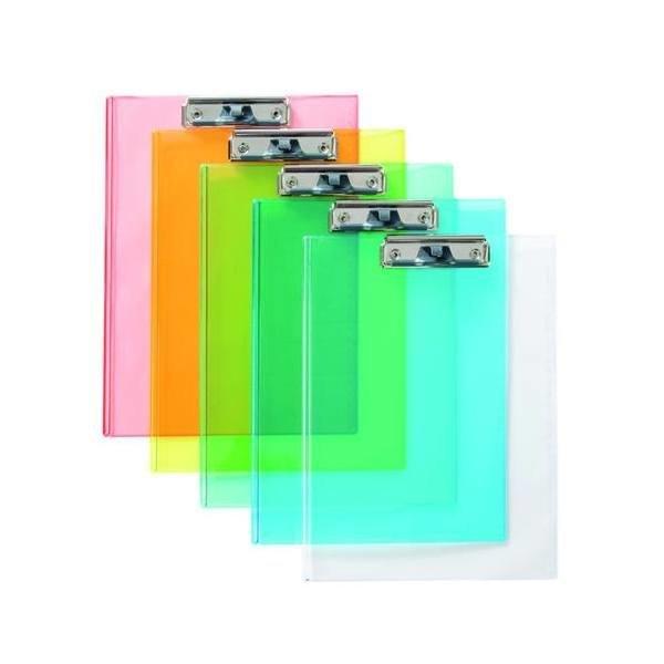 투명클립보드(A4/청색/OfficeDEPOT)