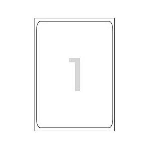 102245 레이져 반투명라벨(LC-3130/10매/1칸/폼텍)