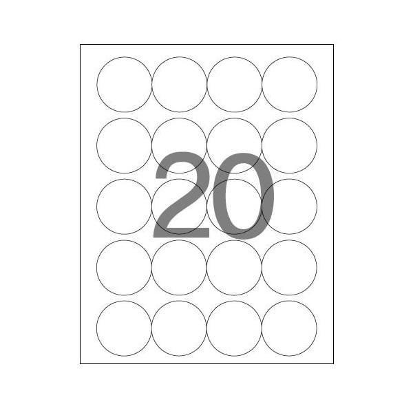 108095 분류표기용 라벨(LS-3639/100매/20칸/폼텍)